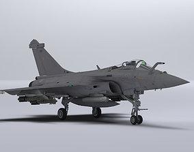 3D model realtime Dassault Rafale M
