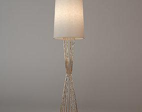 3D model Eichholtz Floor Lamp Holmes model