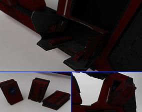 concept gun DRX F3 3D model