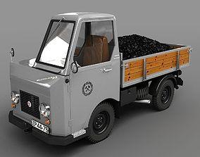 Multicar M22 1964 Kohle 3D model