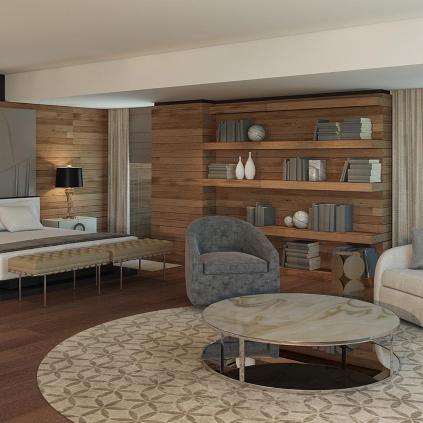Livingroom & bedroom