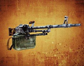 3D asset PK Machine gun
