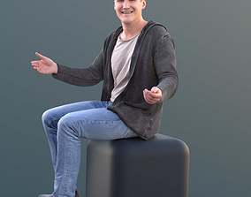 Thorsten 10586 - Talking Casual Man 3D asset