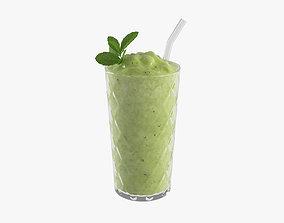 Smoothie cocktail 3D model