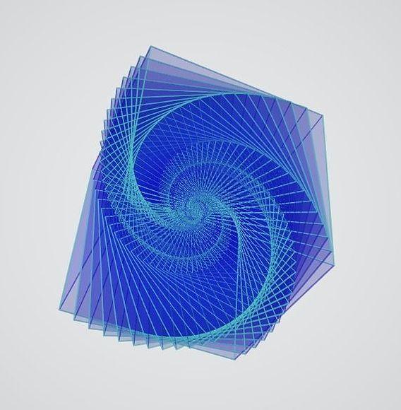 Galaxy in a Cube