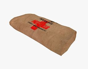 3D asset Bandage Kraft Packing
