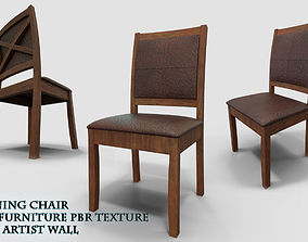3D Classic Dining Chair Ready For PBR
