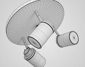 3D Triple Halogen Lamp 38