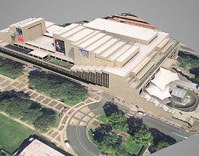 Queensland Performing Art Center QPAC 3D asset