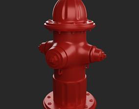 Fire hydrant 3D print model