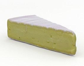 3D Brie Cheese