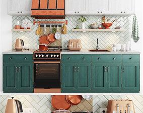 Cooper Delonghi Kitchen Set 3D model