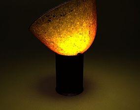 Amber Floor Lamp 3D model