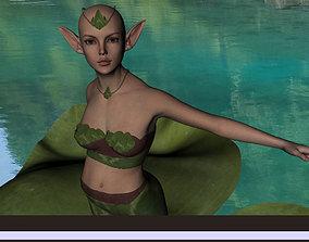 Clover and Elf 3D model