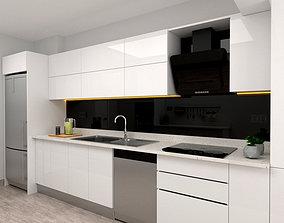 Mutfak kitchen design 3D model