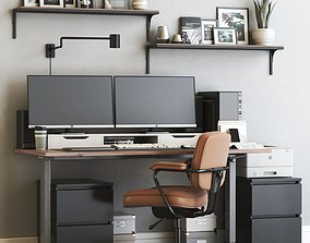 Office workplace 56 3D