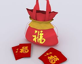 Chinese New Year Gift 3D model
