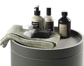 3D Body Care Products with Towel