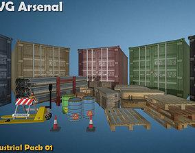 Industrial Package - HQ 3D model