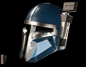Heavy Infantry Mandalorian Helmet 3D print model