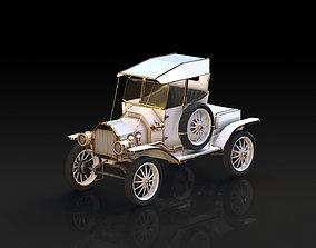 Retro car 3D