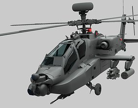 AH-64D Apache 3D