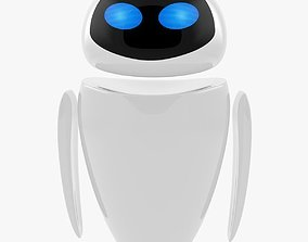 Eve From Wall-E 3D