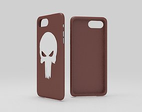 cases iphone 7 plus red premium dead thema 3D print model