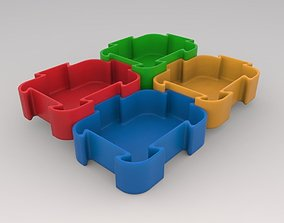 kitchen-cabinet 3D-Printable Puzzle Shaped Container