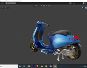 Vespa Sprint IGET 3D Model