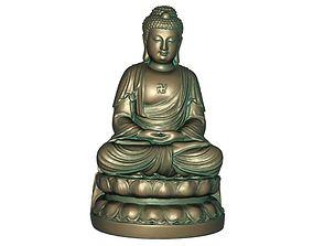 buddhism 3D print model 3D model realtime Buddha