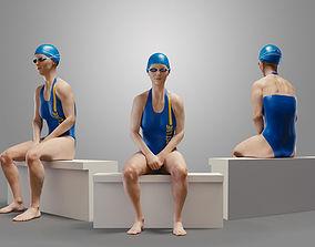 3D SwimmingpoolgirlCasualB