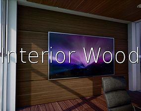 Interior Wood SHC Quick Office LM 3D asset