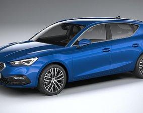 3D model Seat Leon 5-door 2020
