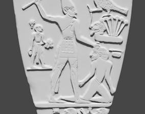 3D printable model Narmer Palette