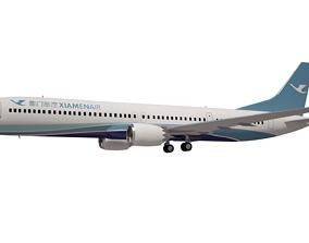 3D model XiamenAir Boeing 737 max 10