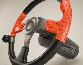Steering Wheel highpoly 3D model