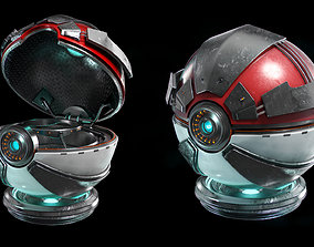3D model Pokemon Ball plastic