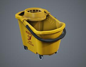 3D asset Mop Bucket