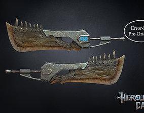 3D print model Monster Hunter World - Giant JawBlade 1 1