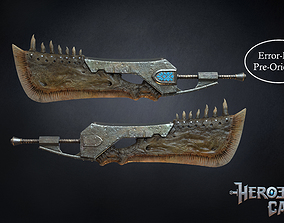 Monster Hunter World - Giant JawBlade 1 3D print model 1