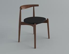 3D asset Chairs Carl Hansen CH20ElbowChair