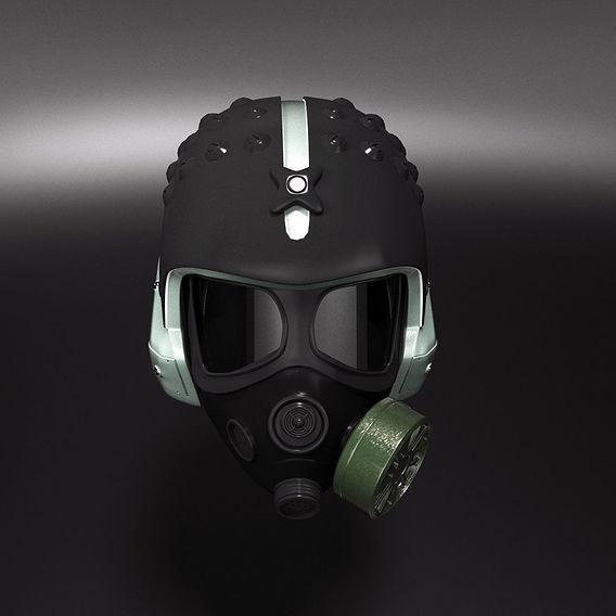 Warrior helmet