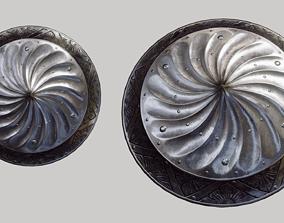3D model Decorated Renaissance Shield
