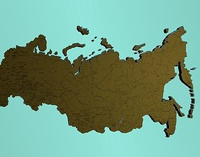 3D model Map of Russia