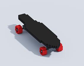 3D model VOXEL SKATEBOARD T1