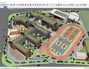 Sketchup school H2 3D