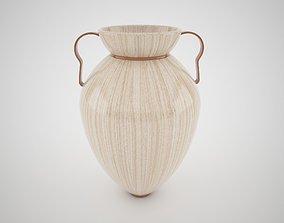 Wood vase 3D