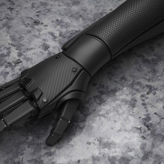 Bionic Hand PBR Workflow