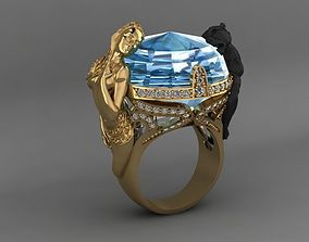 3D print model instinto magerit ring